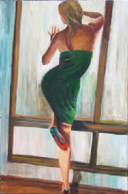 Woman dancing with loubotin shoe painting.jpg